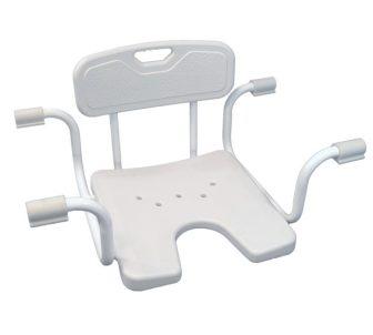 Állítható szélességű fürdőkád ülőke, higéniai nyílással BOBBY