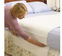 Vízhatlan matracvédő harántlepedő frottír/PVC 120x100 cm