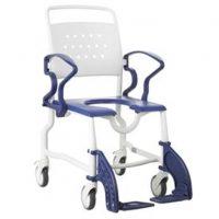 ERFURT Tusolószék / fürdető szék felhajtható karfával 130 kg-ig