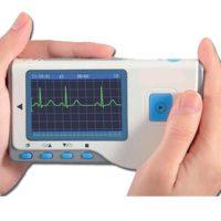 Kézi EKG monitor színes kijelzővel CARDIO-B + szoftver