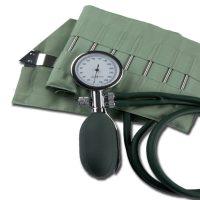 Vérnyomásmérő órás kétcsöves, kapcsos mandzsettával