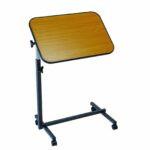 MEDIGOR ágyasztal fa bevonatú asztallappal 40x60 cm