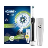 Oral-B PRO 750 Cross Action elektromos fogkefe + úti tok
