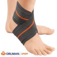 ORLIMAN SPORT elasztikus bokaszorító, pánttal- PREMIUM