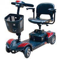 Mozgássérül elektromos kocsi (kék!) - scooter BL270 Scout
