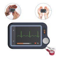 Viatom Pulsebit / Személyi EKG nyomkövető egészségmonitor