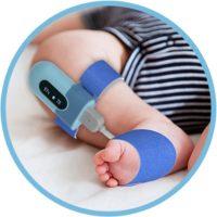 Viatom Baby véroxigénszintmérő készülék, csecsemő pulzoximéter