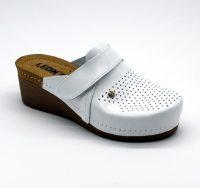 Leon Comfortstep 1001 fehér női bőr papucs 36-41