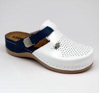 Leon Comfortstep 901 kék női bőr papucs 36-41
