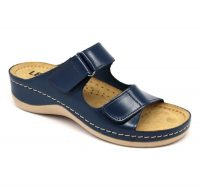Leon Comfortstep 905 kék női bőr papucs 36-41