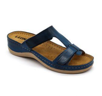 Leon Comfortstep 914 kék papucs 36-41