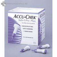 ACCU CHECK SAFE-T-PRO PLUS 200 DB-os steril egyszerhasználatos ujjbegyszúró