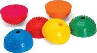 Multiaktív (multiactiv) gumi félgömb, lépegető készlet, tüskés félgömb készlet