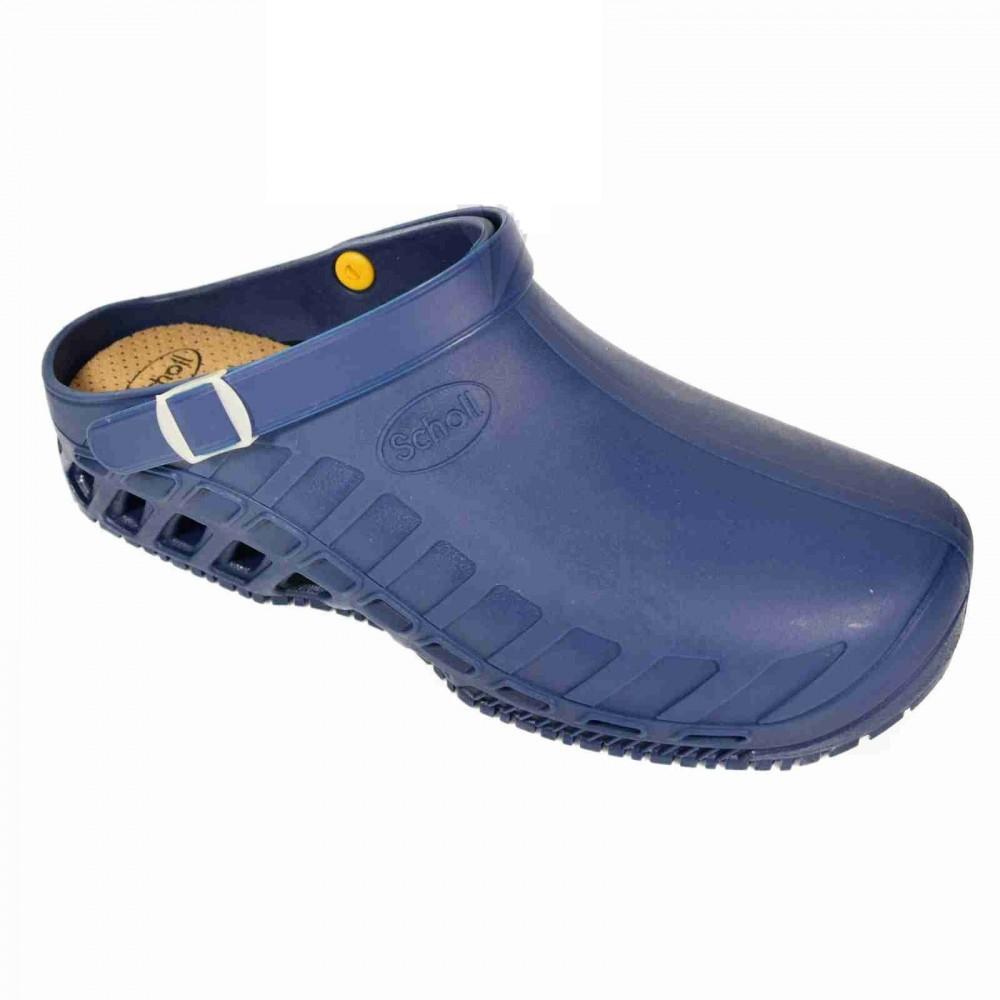 Scholl Clog EVO kék papucs ütéscsillapító Memory Cushion talppal 35-37 3b9babd7e2