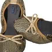 Pocket Balerina cipő királykék 35 42
