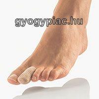Textil lábujjsapka BORT PediSoft