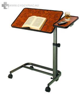 Diffusion ágyasztal görgős, fékezhető, állítható lappal, prémium kivitelben