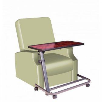 Speciális asztal felállást segítő fotelhez