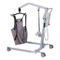 Alti Move elektromos betegemelő lift mozgató hámmal együtt, 160kg-ig, 2év garanciával (akkumulátorra is!)