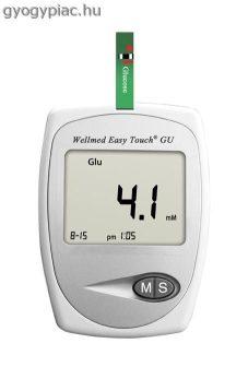 Wellmed Easytouch ET GU Vércukormérő és húgysav mérő készülék