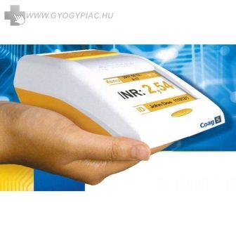 COAG S PROTROMBIN - INR mérő /MEGHATÁROZÓ / COAGULOMÉTER  25 db tesztcsíkkal