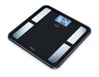Beurer BF 850 Üveg diagnosztikai mérleg Bluetooth (fekete) 5 év garancia
