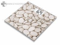 Beurer GS 203 Stone üvegmérleg 5 év garanciával