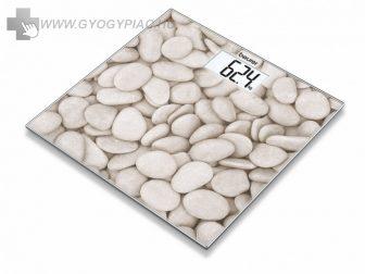 Beurer GS 203 Stone üvegmérleg 5 év garanciával, kifutó