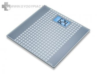 Beurer GS 206 Squares üvegmérleg 5 év garanciával