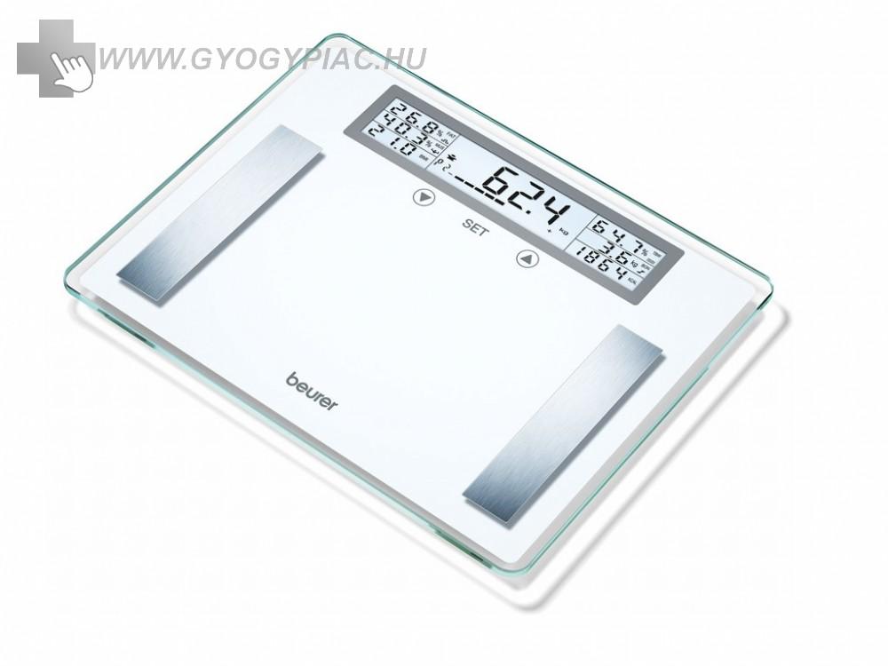 Beurer bg 51 XXL Diagnosztikai mérleg 200 kg-ig 5 év garanciával