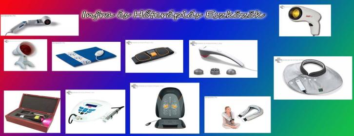 Infra és hőterápiás eszközök